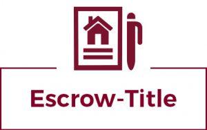 Escrow Title