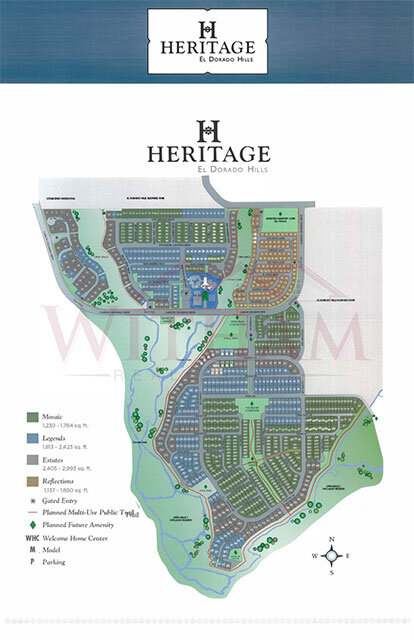 Heritage Site Map